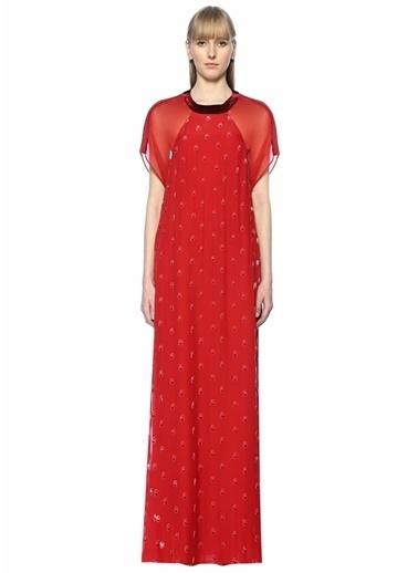 Valentino Elbise Kırmızı
